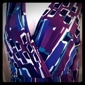 Colorful patterned dress